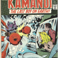 cover of kamandi comic book