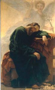 Ciseri's painting of Saint Joseph's dream