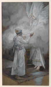 Tissot painting of Zechariah's vision