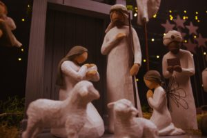photo of nativity scene