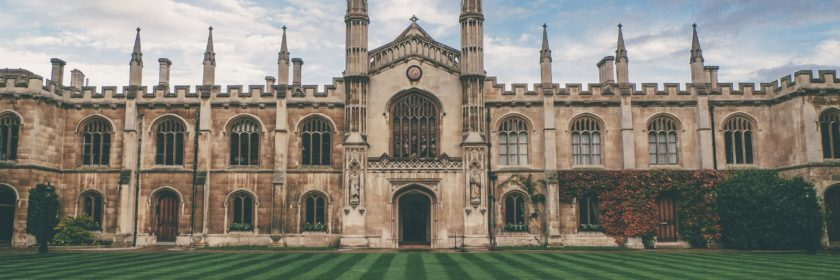 photograph of building at Oxford University