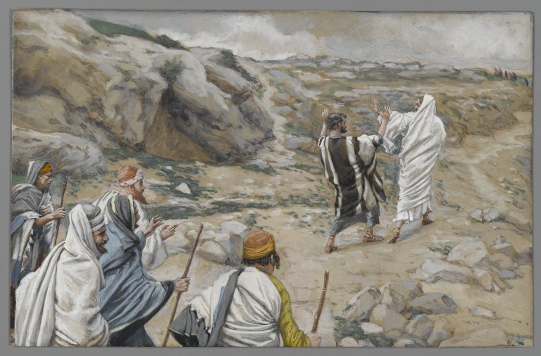 painting by Tissot from the life of Christ
