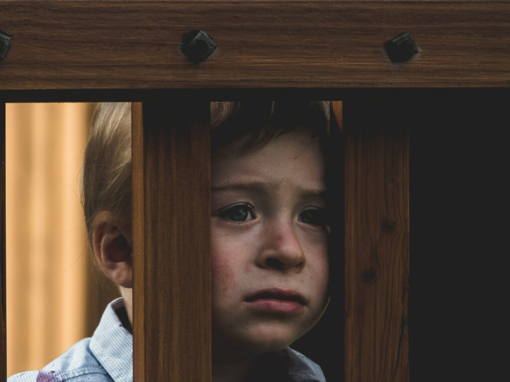 photo of child crying
