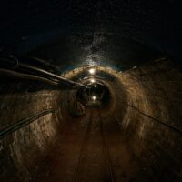 photo of old railroad tunnel
